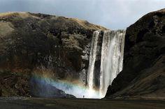 Καταρράκτης στην Ισλανδία(© Lucas Jackson/Reuters)