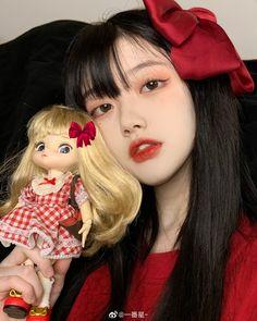 Cute Funny Baby Videos, Cute Funny Babies, Uzzlang Girl, Girl Face, Kawaii Hairstyles, Ulzzang Korean Girl, China Girl, Aesthetic Girl, Pretty Face