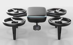 Car-charging Drones of the Future   Yanko Design