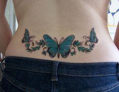 Tatuajes para mujeres en la cadera, ideas y diseños sensuales | Tatuajes para Mujeres