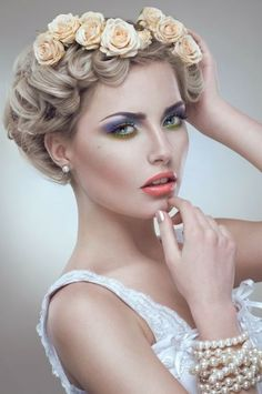 avant garde bridal hair | ... wedding day, this hairstyle might be an avant-garde look from a