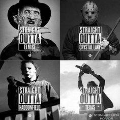 Horror movie straight outtas