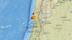 Strong earthquake hits off Chile again | Geology IN