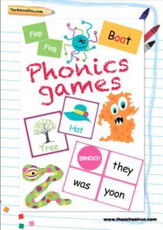 TheSchoolRun offer: Free Phonics Games Pack | TheSchoolRun