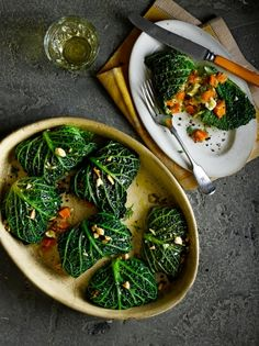 Stuffed Cabbage Rolls | Vegetable Recipes | Jamie Oliver