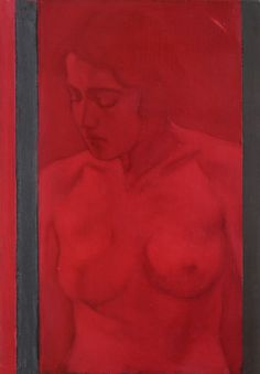 Stille, olio su ardesia, 30 x 20 cm, 2016