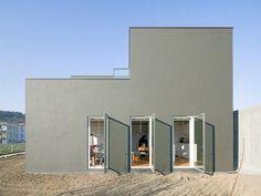Wohnen im schwarzen Mini - Einfamilienhaus nahe Stuttgart von f m b