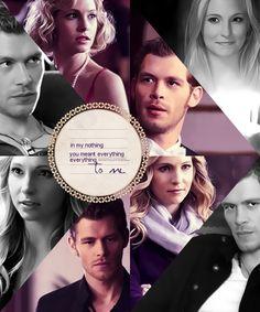 Klaus and Caroline  - Klaroline