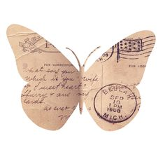 Maybe a butterfly collection from old postcards or cards, or old ads...pin them all in a shadow box and hang your collection?