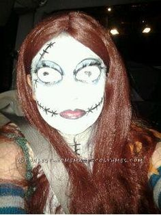 Original Sally from Nightmare Before Christmas Halloween Costume... This website is the Pinterest of costumes