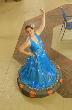 Stargate dress- how amazing!!!! The cosplays ive never even thought of