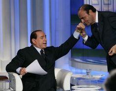 Informazione Contro!: Il pregiudicato Berlusconi,  anziché stare in gale...