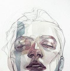 WEBSTA @ arts_gate - Artwork by Limda Israilova ! ......#arts_gate @watercolor_arte