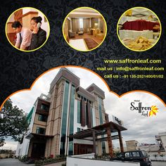 Looking for top class hotel for your next trip to Dehradun? #HotelSaffronleaf will provide you all facilities for your trip. Contact @ + 91 135-2521400/01/02