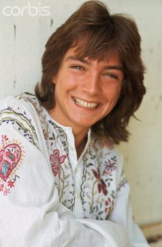 Actor David Cassidy Smiling - DZ006062 - Rights Managed - Stock Photo - Corbis