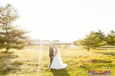 Craig & Shawna's Wedding at Copetown Woods Golf Club Woods Golf, What A Beautiful Day, Outdoor Ceremony, Golf Clubs, Wedding Photos, Sunset, Wedding Dresses, Marriage Pictures, Bride Dresses