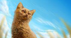 Blue sky by Cat-Patrisiya on DeviantArt