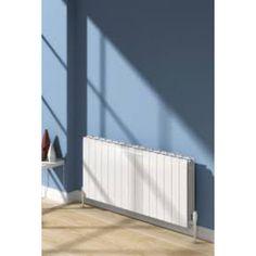 Buy the Reina Miray Aluminium Horizontal Designer Radiator from Only Radiators at this great price and receive top Customer Care and Free UK Delivery Radiator Valves, Aluminum Radiator, Contemporary Radiators, Horizontal Designer Radiators, Column Radiators, Modern Bathrooms Interior, Cast Iron Radiators, Column Design, British Standards