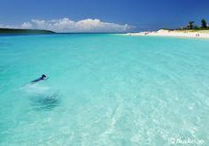 Yonaha-maehama beach, Miyako Is., Okinawa