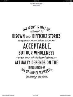 brene brown quotes rising strong - Google Search