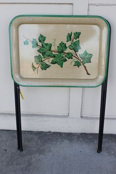 One Vintage Metal Folding TV Dinner Tray By TheLivingRoomConsign