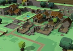 Screenshot from the game: Stonehearth