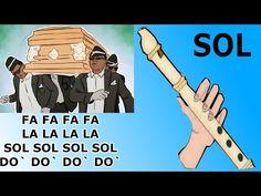 Meme ataud, flauta dulce fácil, tutorial con animación, coffin dance meme, easy flute recorder - YouTube Why Meme, Ravenclaw, Coffin, Memes, Musicals, Youtube, Dance, Make It Yourself, Songs