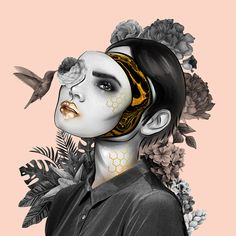 """Check out my @Behance project: """"Illustration: Behind the mask"""" https://www.behance.net/gallery/59081761/Illustration-Behind-the-mask"""
