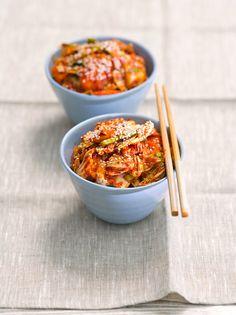 So wird leckeres Kimchi gemacht! | http://eatsmarter.de/rezepte/kimchi-1