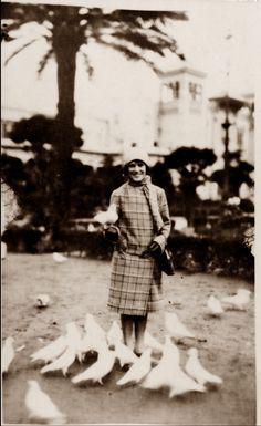 MAMA EN SEVILLA 1929.