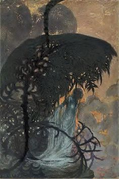 Illustrative work by Auguste Mahrlen, produced in 1904.