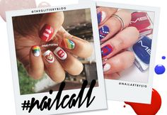 Tuesday's #NailCall: Your Nails Have a Lot to Celebrate This Week | StyleCaster