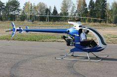 Продажа одноместных вертолетов Mosquito с доставкой по всей России
