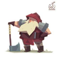 Zinkase - Pablo Hernández: Character design for a videogame