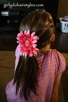 This site is full of little girl hair styles! For future reference...