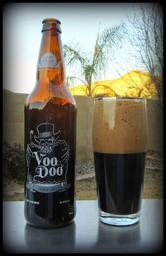 Tonight's beer. Voodoo Stout. Beer Brewing, Home Brewing, I Like Beer, Beer Bucket, Tequila, Dark Beer, Whisky, Left Coast, Beer Brands