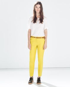 TWO-PLY TROUSERS