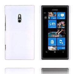 Hard Shell (Hvid) Nokia Lumia 800 Cover