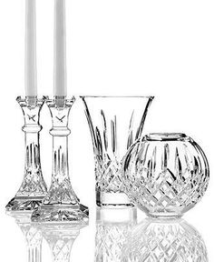 Waterford Crystal Gifts, Lismore Collection - Waterford - Dining & Entertaining - Macy's Bridal and Wedding Registry Crystal Glassware, Crystal Vase, Crystal Gifts, Waterford Lismore, Waterford Crystal, Cut Glass, Glass Art, Crystal Illustration, Crystal Meanings
