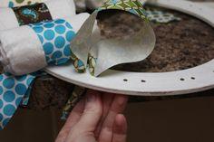 Sew In Love: Diaper Wreath Tutorial