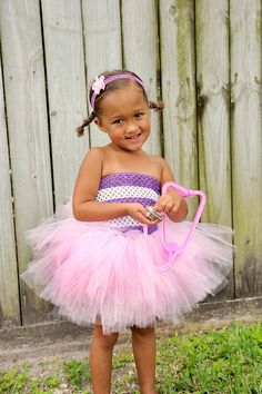 Doc Mcstuffin Tutu Dress With Headband Doc by BailynnsBoutique, $39.95