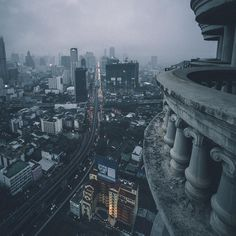 «Ghost Tower, Bangkok. #MKEXPLORE» Bangkok Thailand, Thailand Travel, Thailand Adventure, Southeast Asia, The Past, Around The Worlds, Bucket, Tower, Dreams