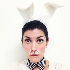 Image result for rabbit costume makeup