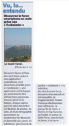 VAR MATIN - Découvrez le Faron smartphone en main grâce aux ecobalades | Balade : Randonnée près de chez vous