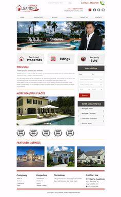 Real Estate Website Design http://stephenrealty.ca/
