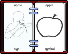 tactile sign language chart | Makaton+signs