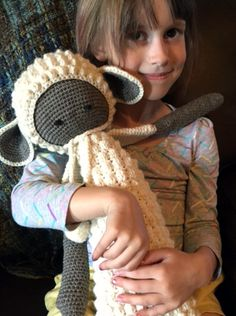 LUPO the lamb made by Anaid designs / crochet pattern by lalylala