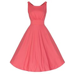 Pin Up Dresses Plus Size Shoulder Ties Flare Sleeveless