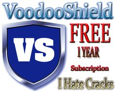Get VoodooShield With One Year Free Subscription | I Hate Cracks