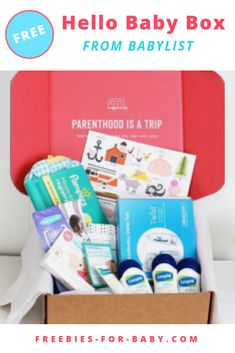 Get a FREE Baby Box filled with full-size baby products + free baby samples from Babylist. Just create a quick Babylist registry and Baby List will ship your free Hello Baby Box straight to your door! Get your baby freebies today! Baby Registry Essentials, Best Baby Registry, Baby Registry Items, Baby Registry Must Haves, Baby Registry Checklist, Pregnancy Freebies, Baby Freebies, Baby Rub, Baby Coupons